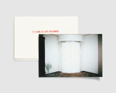 Et dans ce cas seulement - Edition 1 — Marianne Hommersom