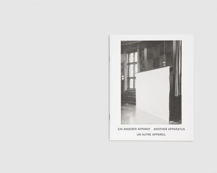 Ein anderer Apparat, another apparatus, un autre appareil — Simon Hempel