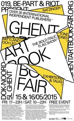 Ghent Artbook Fair 2015