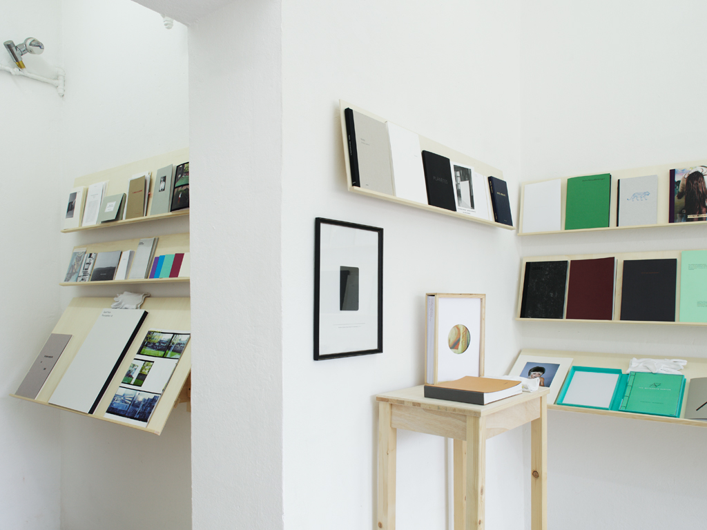 Installation view of kijk:papers 2015, Warte für Kunst, Kassel / Germany