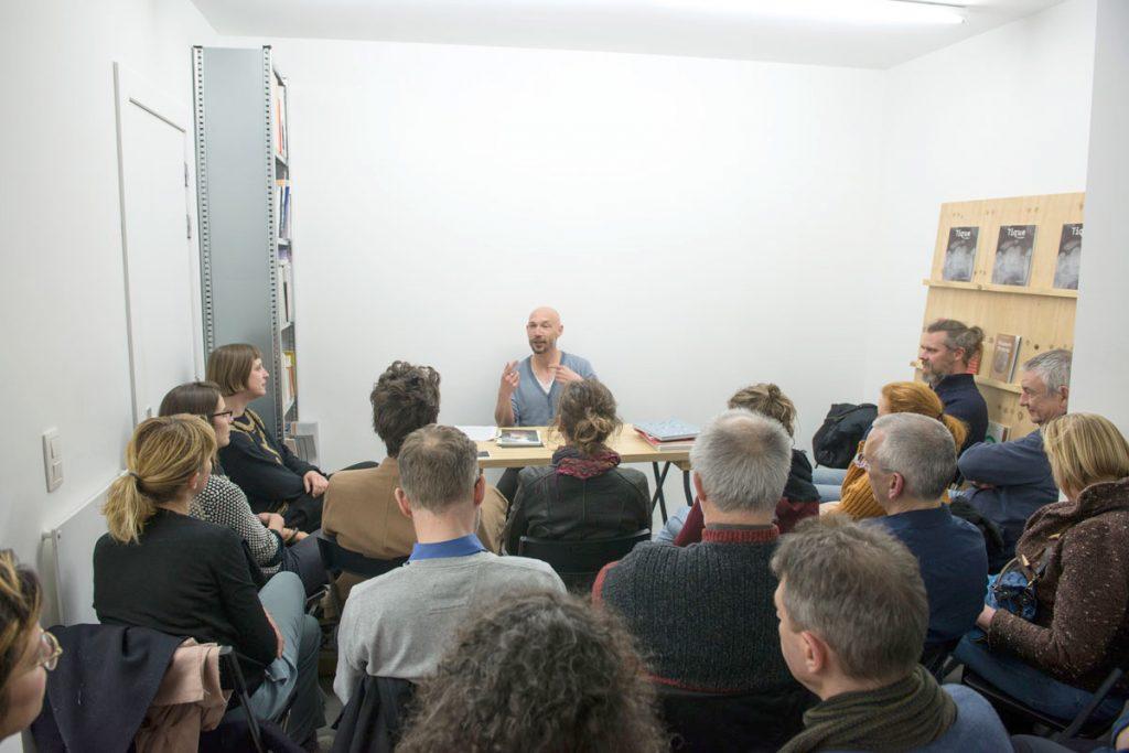 Stefan Vanthuyne during Tique Salon