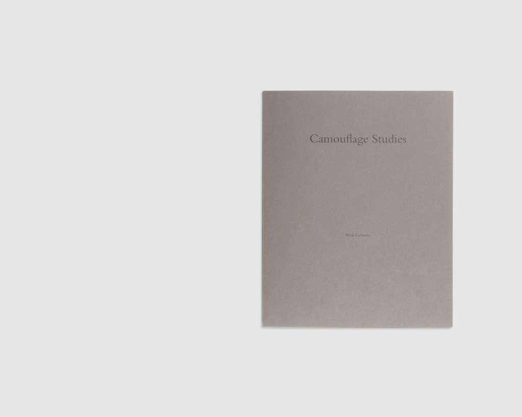 Camouflage Studies — Nick Geboers