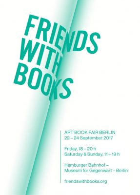 Friends with Books: Art Book Fair Berlin