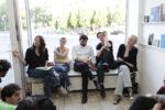 kijk:papers Eröffnung, Maxwell Anderson, Bruno Ceschel, Anne Schwalbe und Laurence Vecten im Gespräch, Warte für Kunst, Kassel 2011