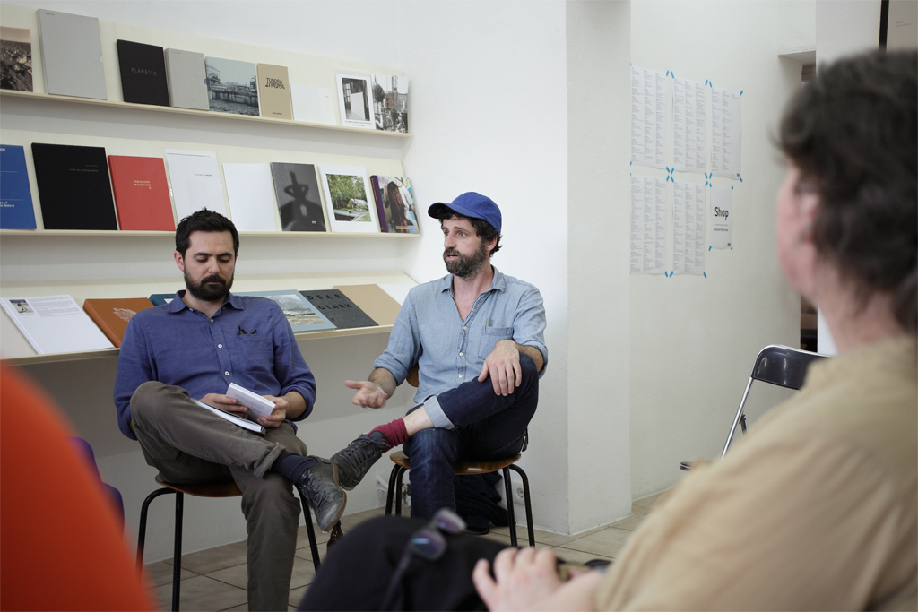 Tommaso Tanini and Marco Paltrinieri at kijk:papers 2015