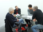 workshop on publishing: From idea to publication, session 2, Tique | art space, Antwerp / Belgium
