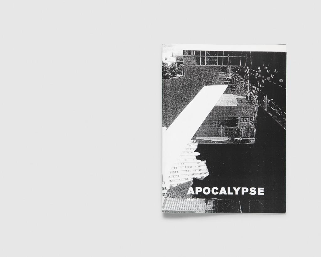 Apocalypse zine — Sarah Pedde