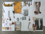 workshop — on collage at Merz Akademie - Hochschule für Gestaltung, Kunst und Medien, Stuttgart