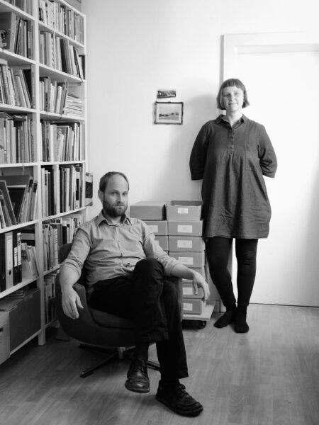 Portrait malenki.net Katrin Kamrau & Robert Schlotter